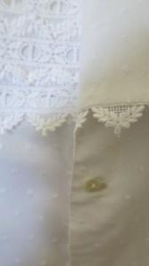 Arm. Bluse Detail Vorderpanel