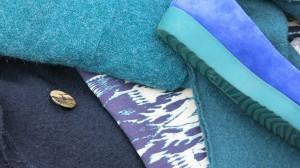 Farbstudie zum Blaugrünen Sommerrock 2