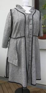 G-Kleid Innenverarbeitung vorne