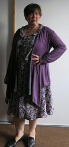 Graues Sommerkleid mit NinaC