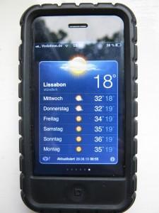 Wetter in Lissabon