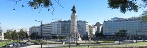 Kreisverkehr Pombal Lissabon