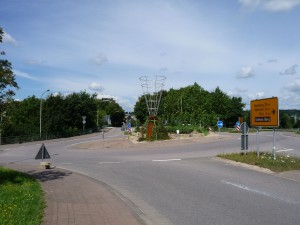 Kreisverkehr Saarland