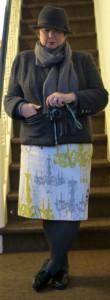 Kronleuchterrock Chanelige Jacke