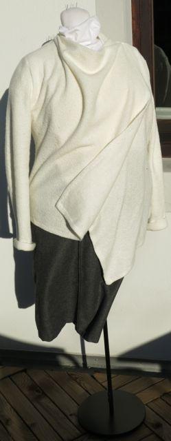 SWAP 13 grauer Rock weiße Jacke