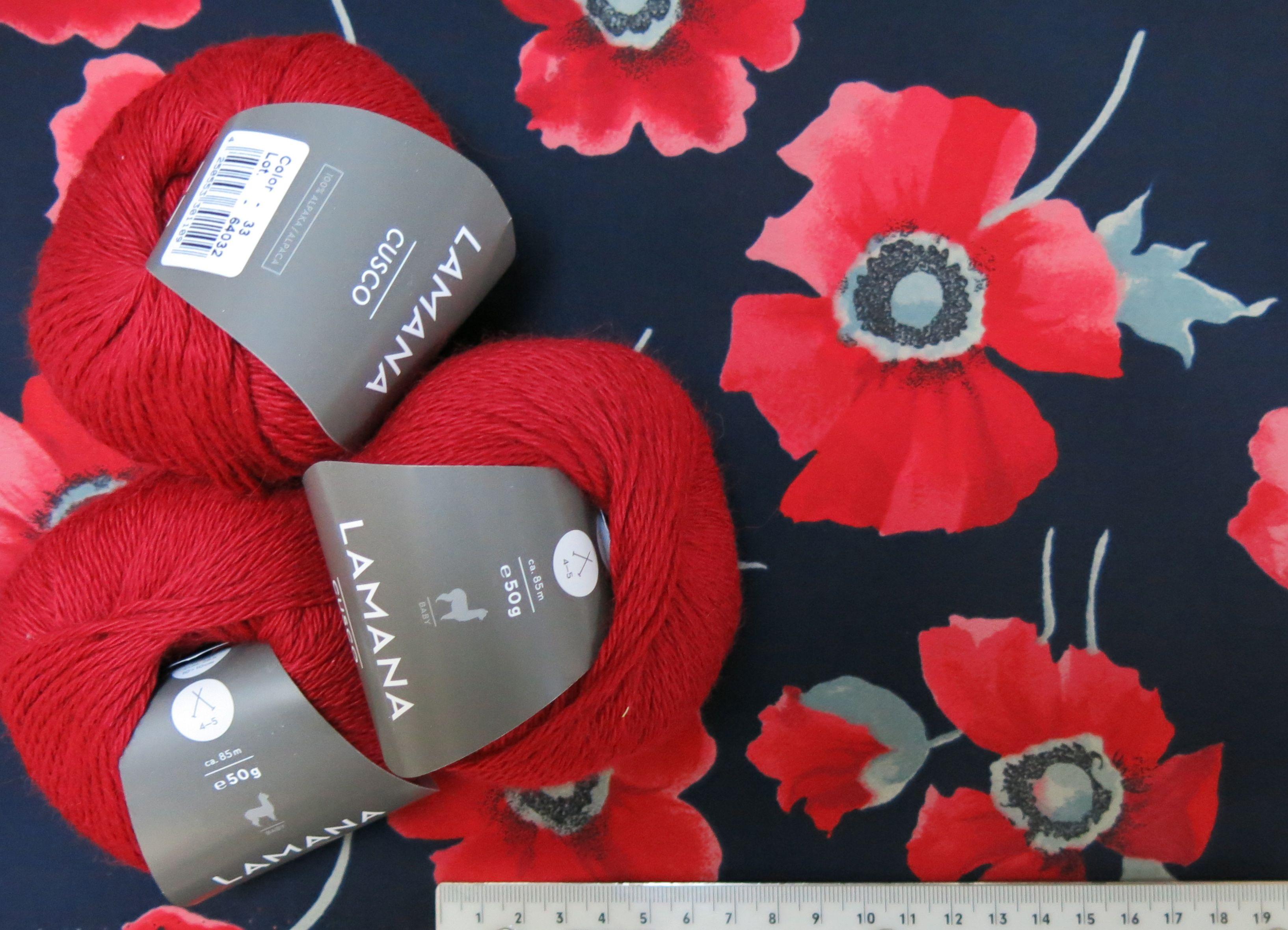 Stoff und Wolle für Jaeckchen 14