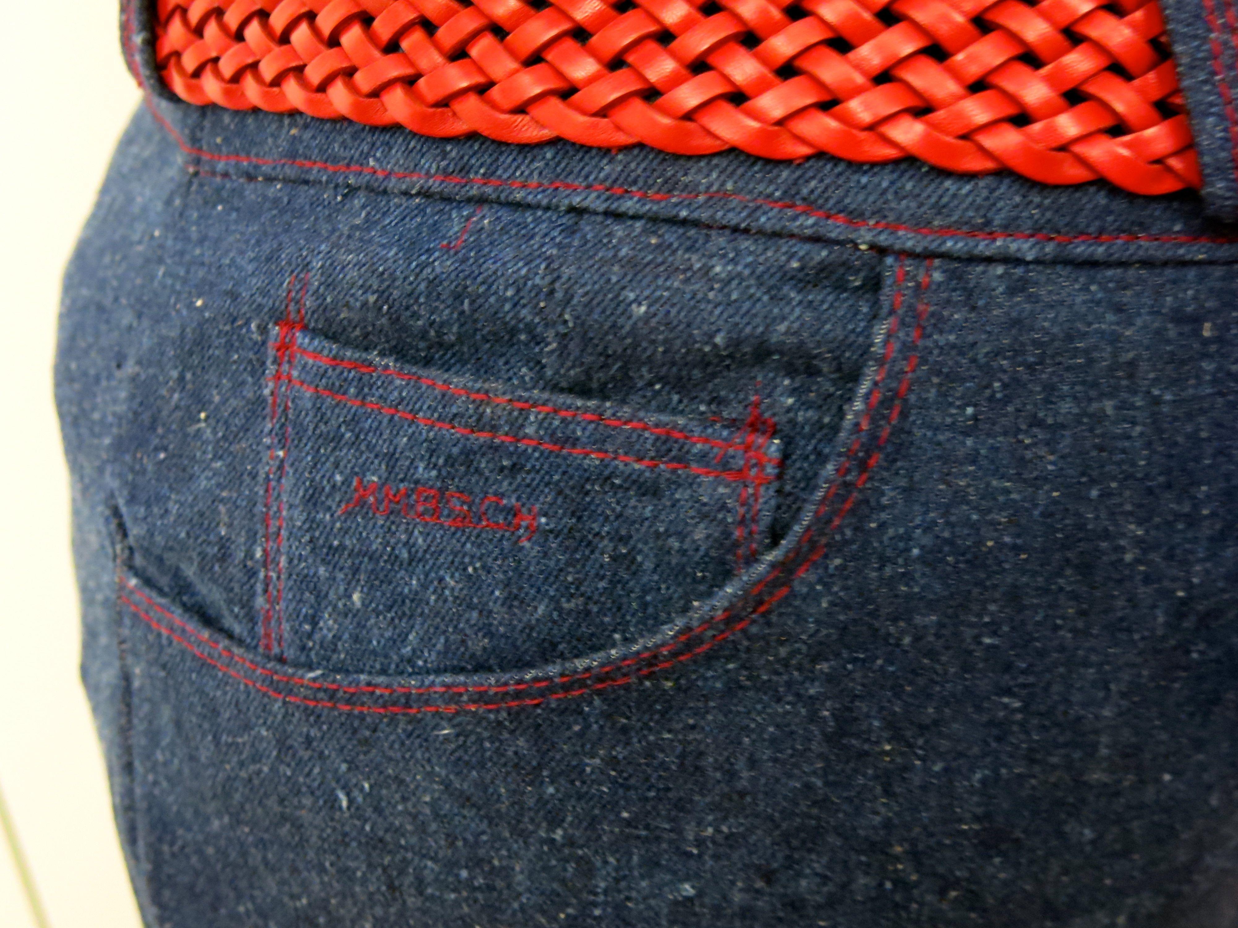 Jeansrock Detail