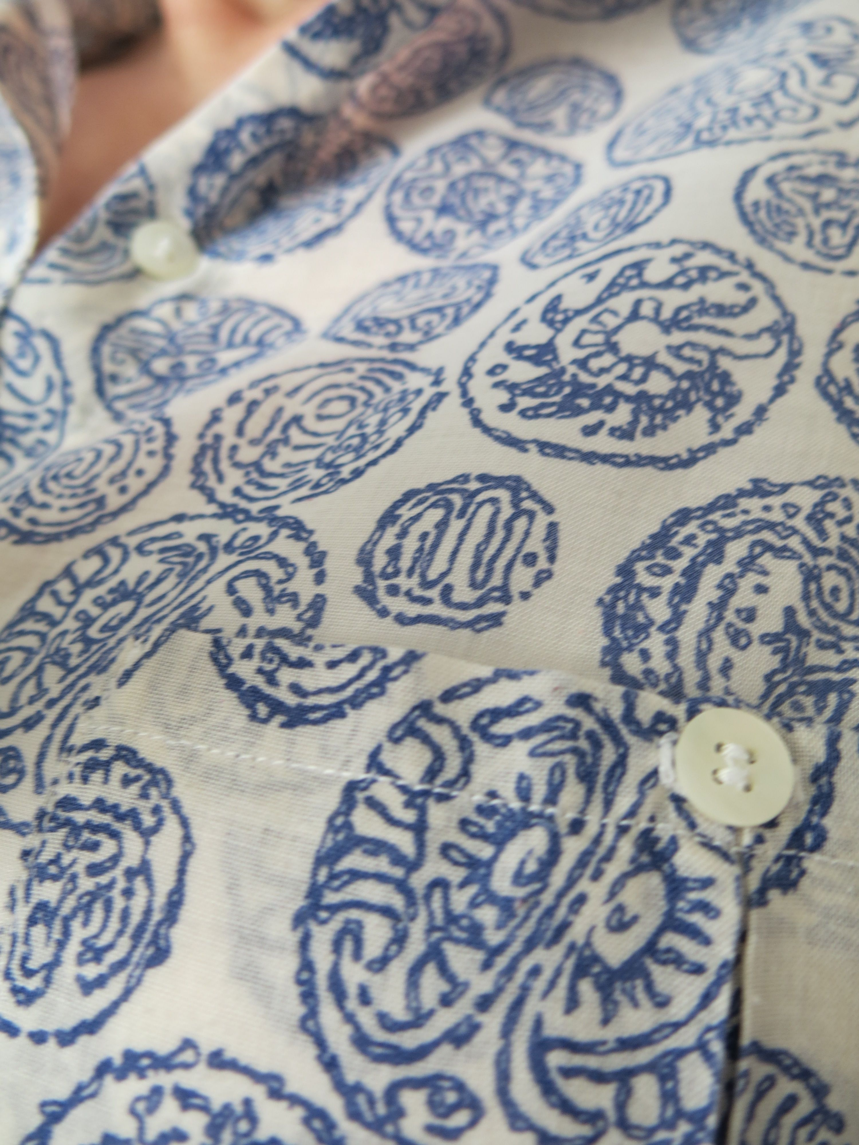 Bluse Detail