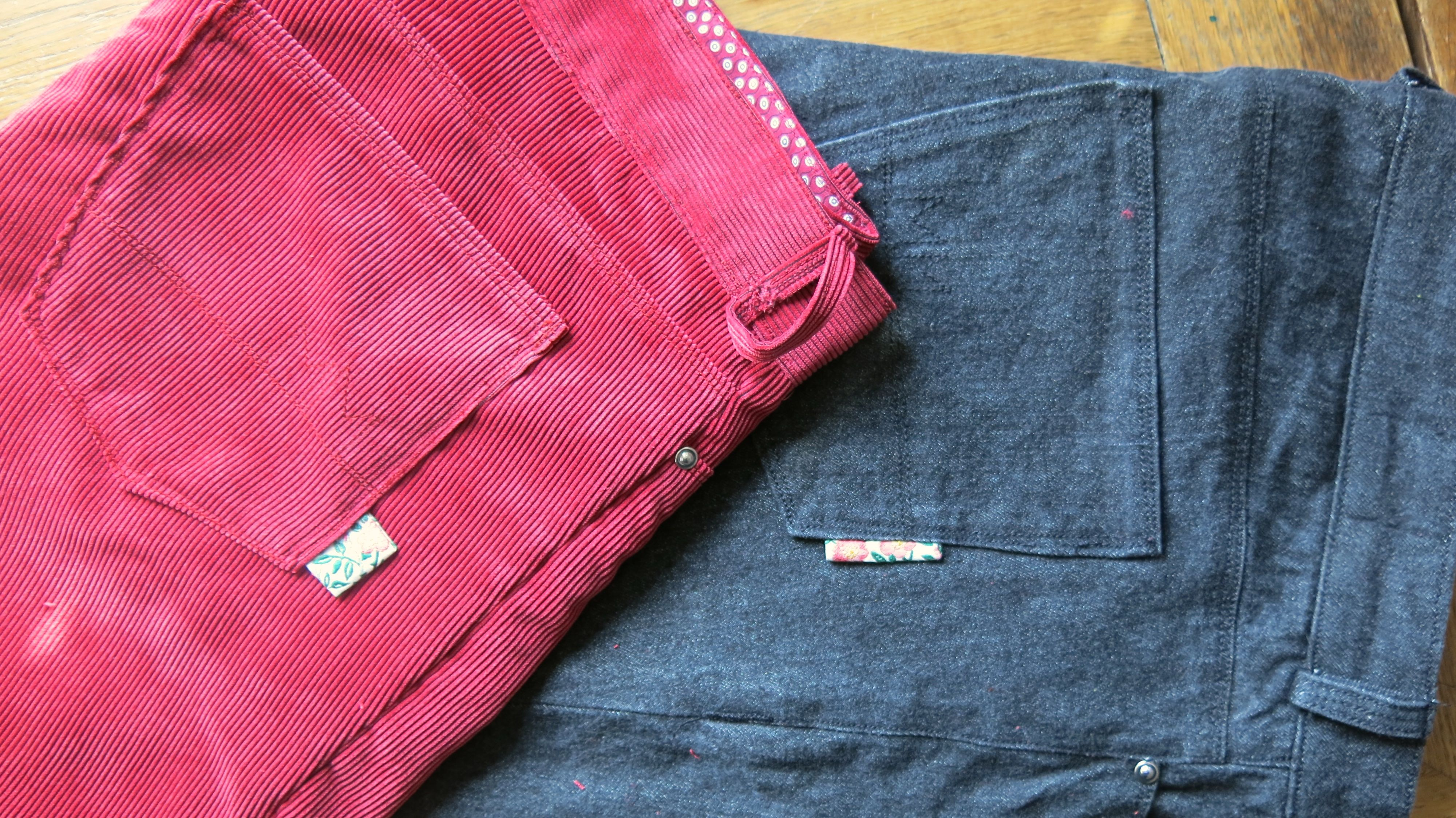 Schnittmusterbeschreibung – Jeans Ginger von Closet Case | mema