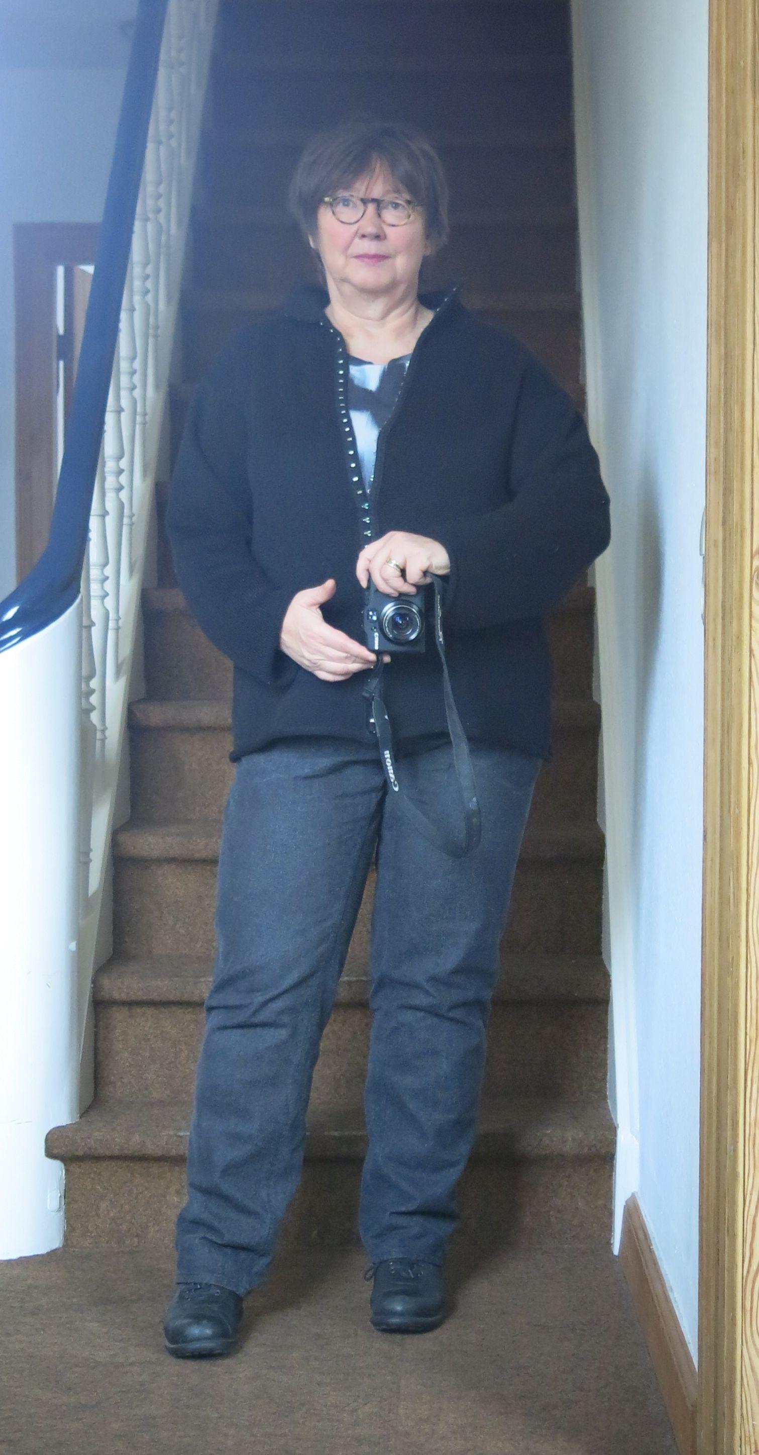 MMM schwarze Jeans monika shirt jacke
