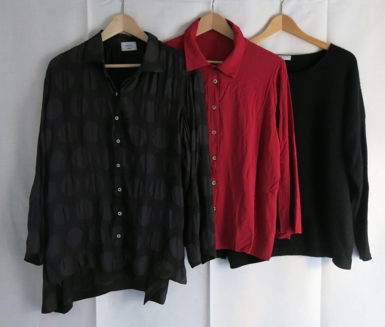 Reise 15 2 Hemden 1 Pullover