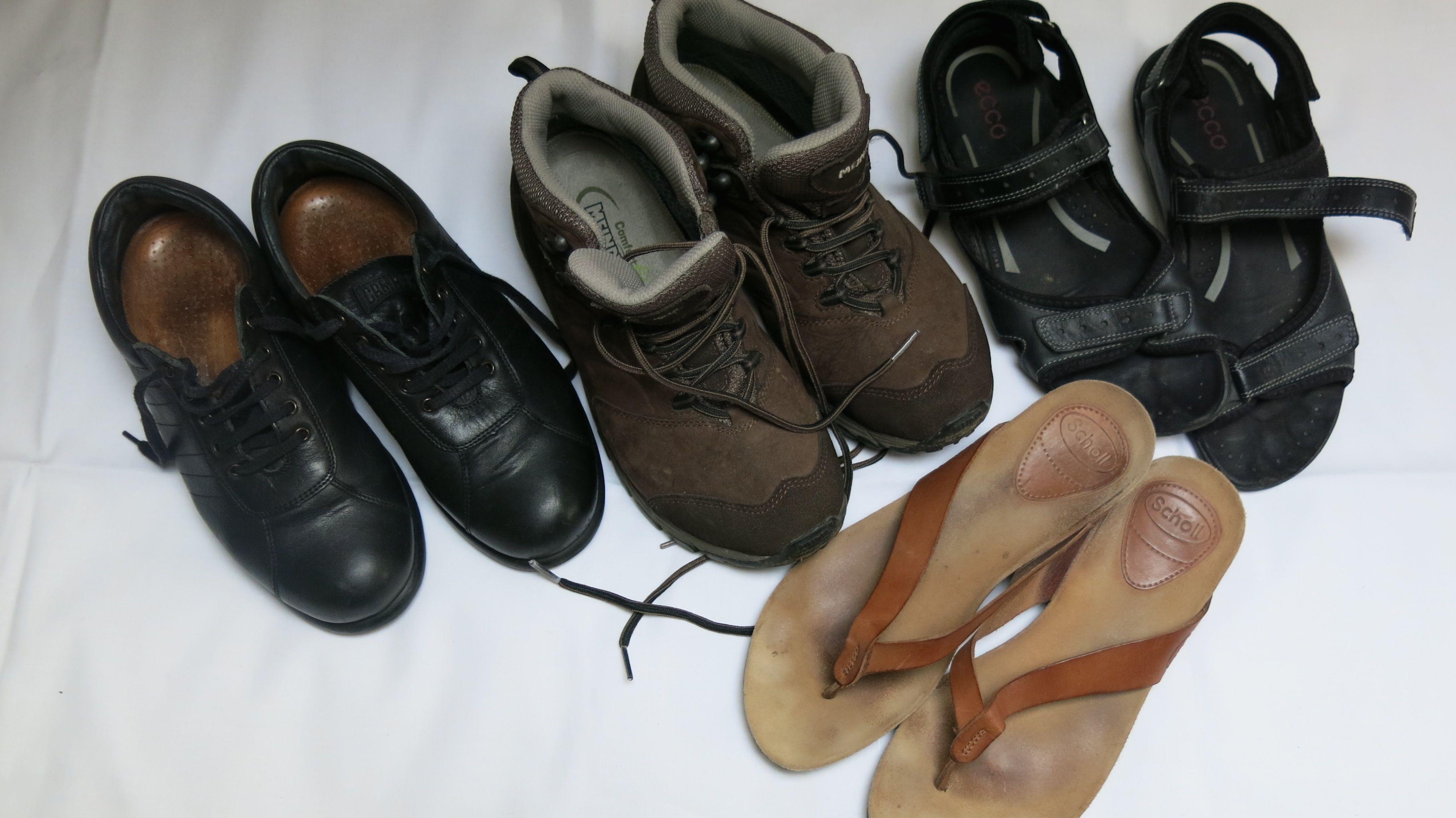 Reise 15 4 Paar Schuhe