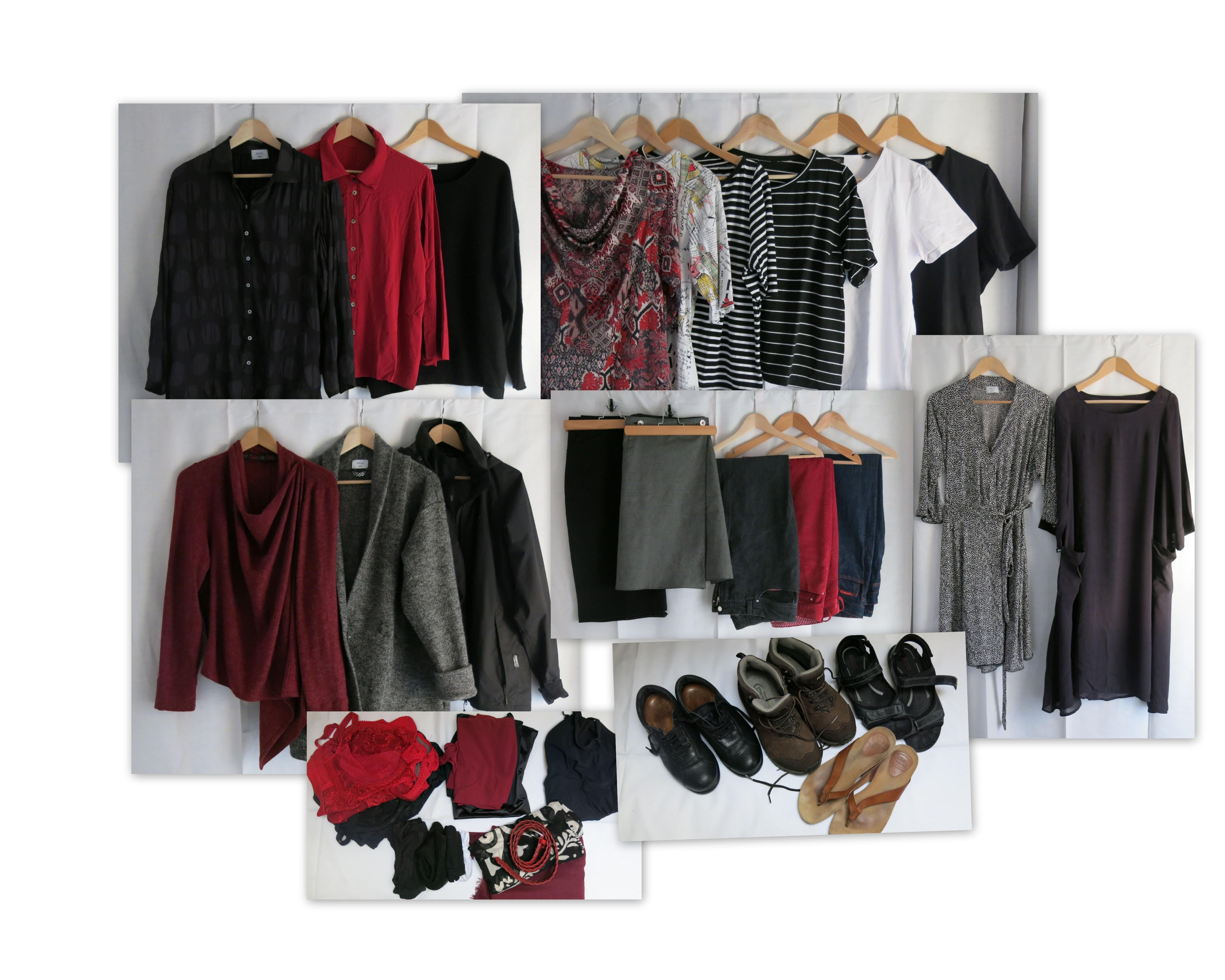 Reise 15 Kleidung