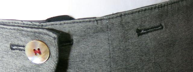 Wickelrock Verschlussdetail