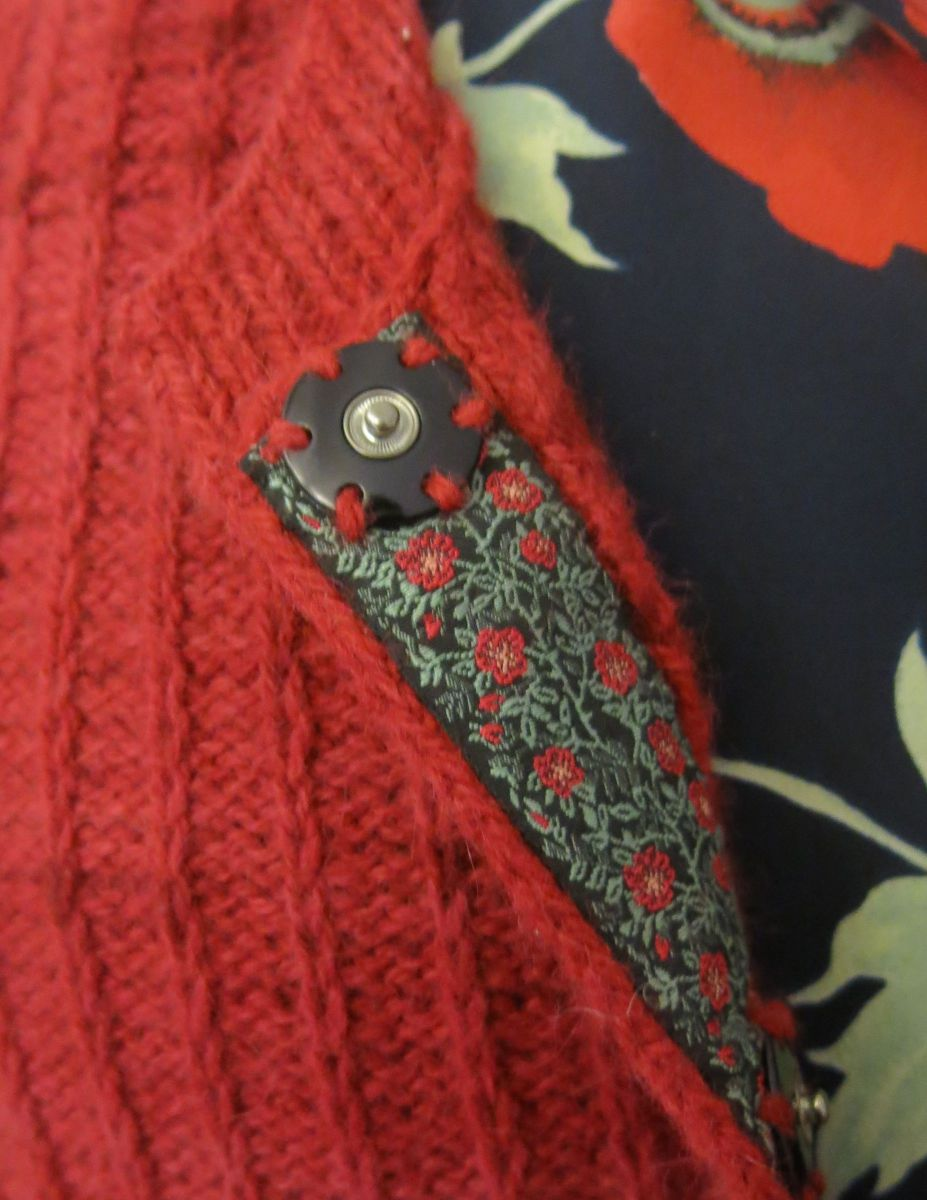 Strickjacke DECO Detail 2