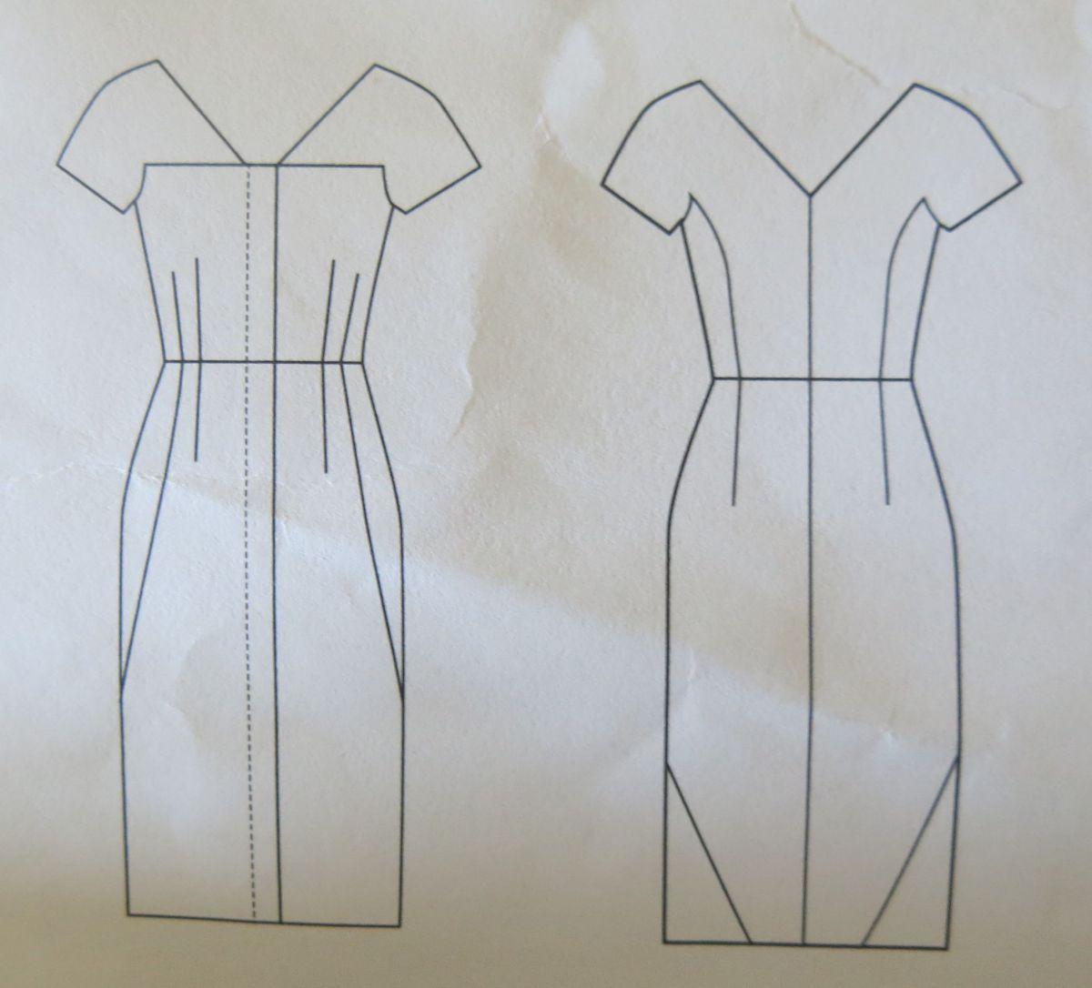 Vogue 1350 technische Zeichnung
