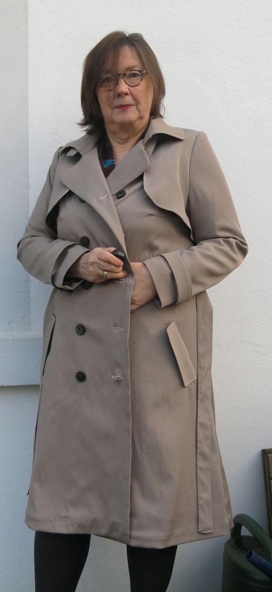 Schnittmusterbeschreibung – Isla Trench Coat von Named | mema