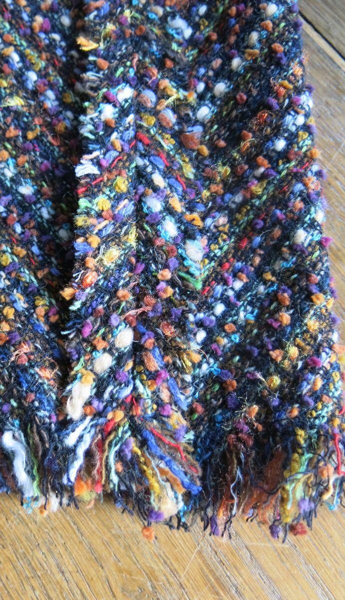 kleid tweed lange ärmel